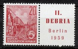 DDR 580 B  Zf    ** - Neufs