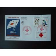FDC - Croix Rouge 2010 (env 2 Sur 2), Oblit 5/11/2010 Paris - FDC