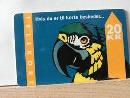 SCHEDE TELEFONICHE, DANIMARCA, PAPPAGALLO Scad 31/12/95 - 09/93 N° 157850 - Denmark