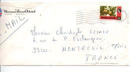BAHAMAS SEUL SUR LETTRE POUR LA FRANCE - Bahamas (1973-...)