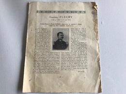 Avis Deces Soldat De DIJON - 411e Regiment D'Infanterie Tué Le  25 Avril 1916 - War 1914-18