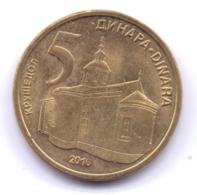 SERBIA 2016: 5 Dinara, KM 56a - Serbie