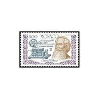 Timbre N° 1608 Neuf ** - 150ème Anniversaire De L'invention Du Télégraphe : Portrait De Samuel Morse Et Appareils. - Neufs