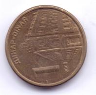 SERBIA 2009: 1 Dinar, Magnetic, KM 48 - Serbien