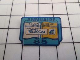 415b Pin's Pins / Rare & Belle Qualité !!! THEME : FRANCE TELECOM / ANNUAIRE PAGES JAUNES VENDEE  Par STADIUM - France Telecom