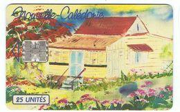Télécarte Nouvelle - Calédonie - Réf NC21a - Utilisée - 25 Unités -  Cote 2 € - ( TBE Voir Les 2 Scans Recto / Verso ) - Polynésie Française