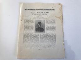 Avis Deces Soldat Dessinateur Au PLM De LYON - 29e Regiment D'Infanterie Mort Le 14 Decembre 1918 (grippe Espagnole) - Weltkrieg 1914-18