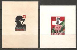 2 Blocs De 1939 ( Soldats / Neufs* ) - Poste Militaire