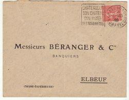 ESC Daguin Chateaudun 1928 - Marcophilie (Lettres)