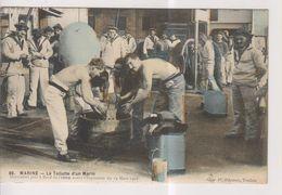CPA-83-Var-Militaria-Marine- TOULON- La Toilette D'un Marin- Document Pris à Bord Du IENA Avant L'Explosion Du 12 Mars - Toulon