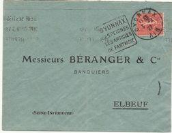 ESC Daguin Oyonnax 1927 - Marcophilie (Lettres)
