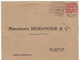 ESC Daguin Remiremont 1930 - Marcophilie (Lettres)