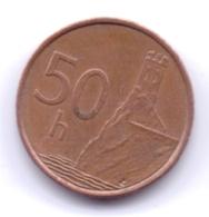 SLOVAKIA 2003: 50 Halierov, KM 35 - Slovakia