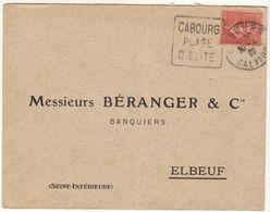 ESC Daguin Cabourg 1929 - Marcophilie (Lettres)