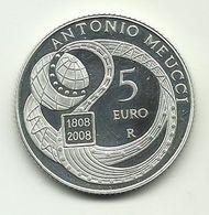 2008 - Italia 5 Euro Meucci - Senza Confezione - Italie
