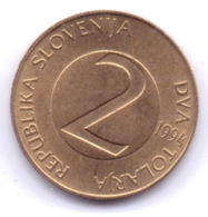SLOVENIA 1994: 2 Tolarja, KM 5 - Slovenië