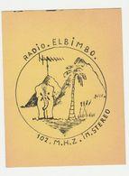 QSL Card 27MC Radio Elbimbo Olifant-elephant (NL) - CB