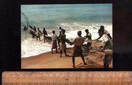 TOGO République Togolaise : Pêche Traditionnelle Net Fishing Afrique Africain African Africa - Togo