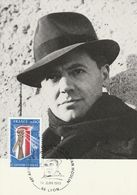 Jean Moulin  1983  Lyon - Cartas Máxima