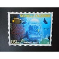 Timbre N° 852 Neuf ** - Maison Sous-marine - Nouvelle-Calédonie