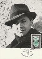 Jean Moulin  1983  Caluire Et Cuire - Cartas Máxima