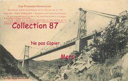 PONTS ☺♦♦ PONT GISCLARD - PONT SUSPENDU FERROVIAIRE Et PASSAGE Du TRAIN ELECTRIQUE - BRIDGE  BRUCKE - Ouvrages D'Art