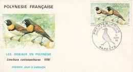Polynésie Française  1982  Les Oiseaux - Polynésie Française