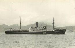 426 PHOTOS BATEAU LE ROCKESTER DE 1946 PREFIXE M.V  DE 3030 T - FORMAT C.P.A N° B426 - Schiffe