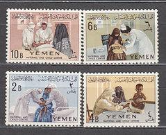 Yemen Reino - Correo Yvert 121/4 ** Mnh - Yemen