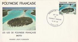 Polynésie Française  1982   Papeete - Polynésie Française