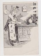 Curieuse Carte Fantaisie Signée Bocardho - Künstlerkarten