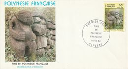 Polynésie Française  1982   Tikis - Polynésie Française