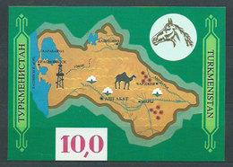 Turkmenistan - Hojas Yvert 1 ** Mnh Mapa - Turkmenistan