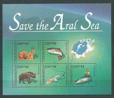 Turkmenistan - Hojas Yvert 5 ** Mnh Fauna - Turkmenistan