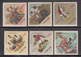 Timor - Correo Yvert 322/7 * Mh Deportes - East Timor