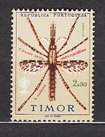 Timor - Correo Yvert 328 ** Mnh Fauna. Medicina. Paludismo - East Timor
