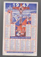 Calendrier LA CROIX 1947  (M0258) - Grand Format : 1941-60