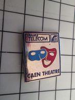 415b Pin's Pins / Rare & Belle Qualité !!! THEME : FRANCE TELECOM / AGENCE CAEN THEATRE Disparue Depuis Belle Lurette ! - France Telecom