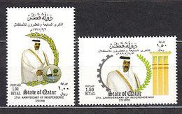Qatar - Correo Yvert 768/9 ** Mnh  Emir - Qatar