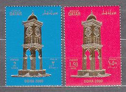 Qatar - Correo Yvert 795/6 ** Mnh - Qatar