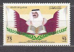 Qatar - Correo Yvert 853 ** Mnh  Emir - Qatar