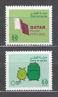 Qatar - Correo Yvert 884/5 ** Mnh - Qatar