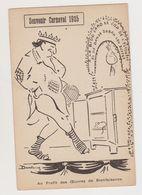 Curieuse Carte Fantaisie Signée Dantoing (? ) / Souvenir Carnaval 1925. Au Profit Des Oeuvres De Bienfaisance - Künstlerkarten