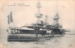 76 LE HAVRE LE MASSENA CUIRASSE D'ESCADRE - Guerra