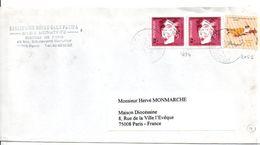 PORTUGAL LETTRE POUR LA FRANCE 1996 - 1910 - ... Repubblica