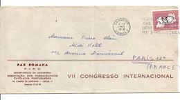 PORTUGAL LETTRE POUR LA FRANCE 1963 - 1910-... République