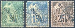 Réunion N°20, 22 Et 24 - Oblitérés - (F1541) - Reunion Island (1852-1975)