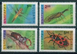 4106 Bulgaria 1993 Animali & Fauna >   Insetti     Camel Collo Volare; Bug Fire ** MNH - Non Classificati