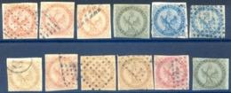 Colonies Générales - Type Aigle - Lot De 12 Timbres - Cote 250€ - (F1546) - Águila Imperial