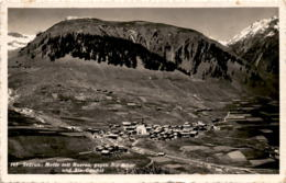 Sedrun: Motiv Mit Rueras (145) * 5. 8. 1936 - GR Grisons
